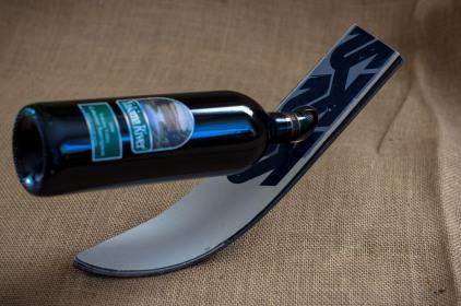 Ski Wine Holder-52
