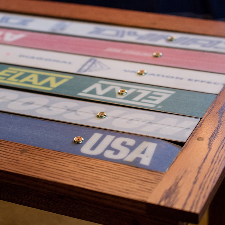 Ski Coffee Tables